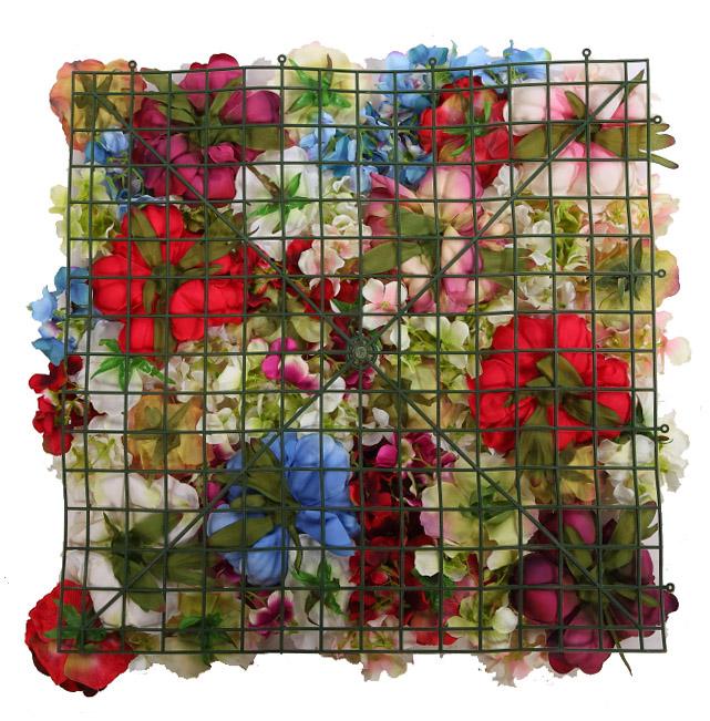 Estructura para jardin vertical flor 50x50 cm - Estructura jardin vertical ...